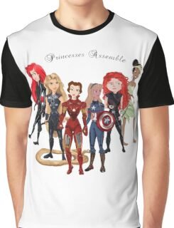Princesses Assemble  Graphic T-Shirt