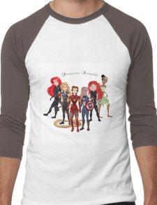 Princesses Assemble  Men's Baseball ¾ T-Shirt