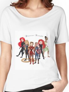 Princesses Assemble  Women's Relaxed Fit T-Shirt