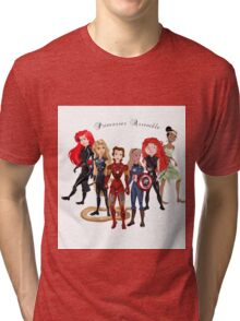 Princesses Assemble  Tri-blend T-Shirt