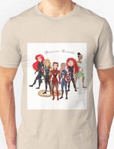 Princesses Assemble  Unisex T-Shirt