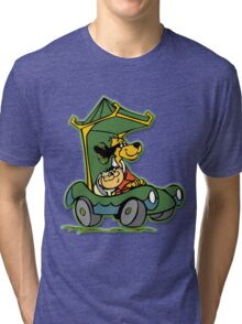 Hong Kong Phooeymobile Black Tri-blend T-Shirt