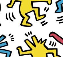 LEST DANCE - K HARING Sticker