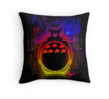 Colourful friend Throw Pillow