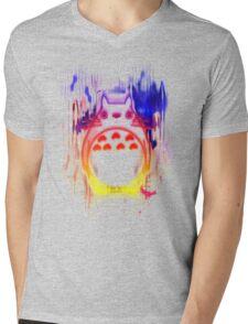 Colourful friend Mens V-Neck T-Shirt