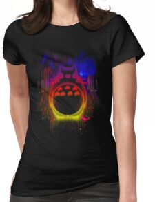 Colourful friend Womens Fitted T-Shirt