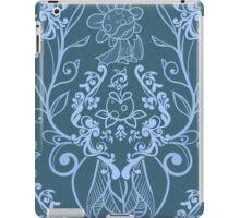 Piranha Damask - Blue iPad Case/Skin