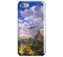 Fine Evening in the Alps iPhone Case/Skin