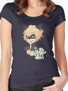 CLAWS OUT !! Women's Fitted Scoop T-Shirt