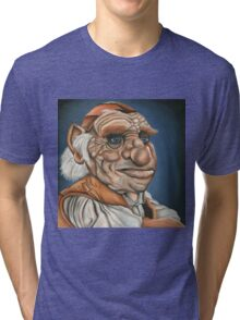 Hoggle - Oil Painting Tri-blend T-Shirt