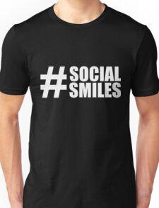 #SOCIALSMILES - for dark background 002 - PLATFORM58 Unisex T-Shirt