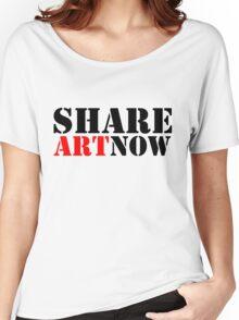 SHARE ART NOW - m a longbottom - platform58 Women's Relaxed Fit T-Shirt