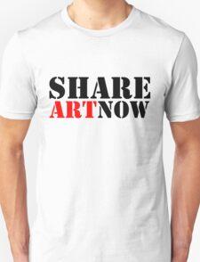 SHARE ART NOW - m a longbottom - platform58 Unisex T-Shirt
