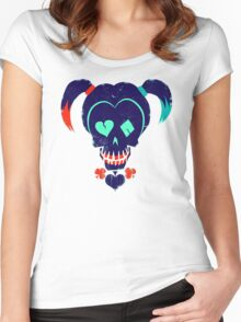 Suicide Squad - Harley Quinn Women's Fitted Scoop T-Shirt