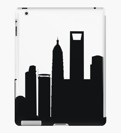 Silhouette - 4 iPad Case/Skin