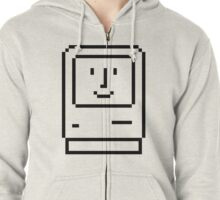 Happy Mac Zipped Hoodie