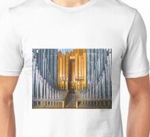 Massive Pipe Organ Pipes Unisex T-Shirt