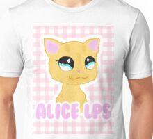 """ Alice LPS "" Check/Plaid Logo Design Unisex T-Shirt"