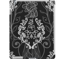 Piranha Damask - Black iPad Case/Skin
