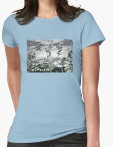 Autumn Stone Womens Fitted T-Shirt