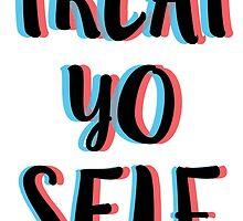 Treat Yo Self 4 (3D) by emilystp23