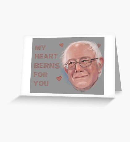 Bernie Valentine Greeting Card