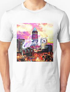 Cleveland Cavaliers Skyline and Logo T-Shirt
