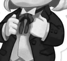Mini First Doctor (BW Variant) Sticker