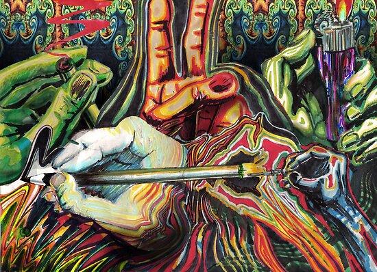 Hands by Calgacus