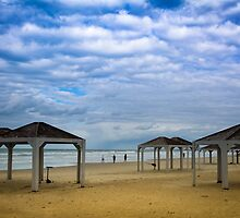 Winter on the Beach by SharonYanai