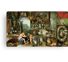 Allegory of Sight Canvas Print