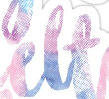 SDT- sigma delta tau watercolor Sticker