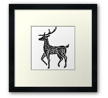 Deercycle Framed Print