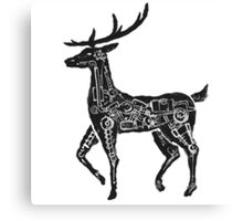 Deercycle Canvas Print