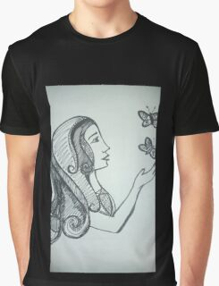 The Butterfly Whisperer Graphic T-Shirt