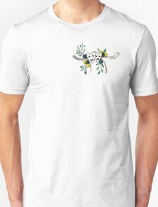Phil 4:13 Floral Comedy/Tragedy Masks Unisex T-Shirt