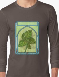Art nouveau. Basil. Long Sleeve T-Shirt