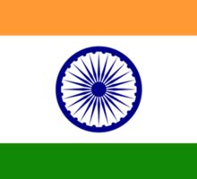 INDIA, India Flag, The National Flag of India, Pure & Simple Sticker