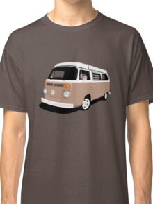 Vw Camper Late Bay tan and white Classic T-Shirt