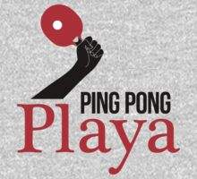 Ping Pong Playa Baby Tee