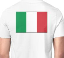 ITALY, ITALIAN, Italian Flag, Flag of Italy, 'Bandiera d'Italia', Pure & simple Unisex T-Shirt