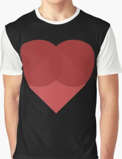 All You Need Is Art - love heart valentine fun cute romance Graphic T-Shirt