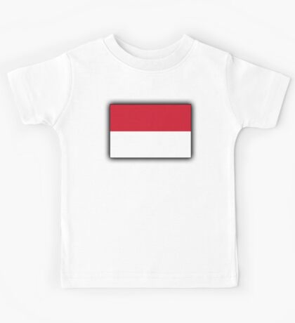 Indonesia, Indonesian Flag, Flag of the Republic of Indonesia, Jakarta Kids Tee