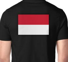 Indonesia, Indonesian Flag, Flag of the Republic of Indonesia, Jakarta Unisex T-Shirt