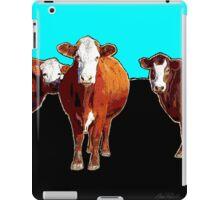 Three Cows Pop Art iPad Case/Skin