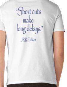 JRR, Tolkien, Short cuts, make long delays Mens V-Neck T-Shirt