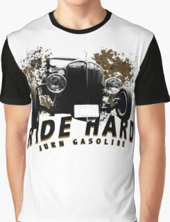 HotRod burn gasoline Graphic T-Shirt