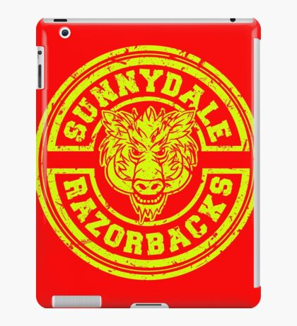 Sunnydale Razorbacks iPad Case/Skin