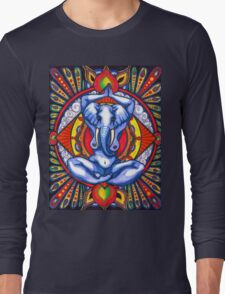 Ganesha as Goddess Long Sleeve T-Shirt