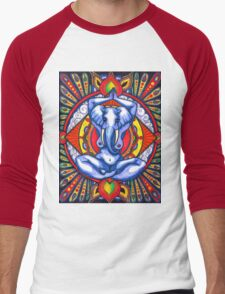Ganesha as Goddess Men's Baseball ¾ T-Shirt